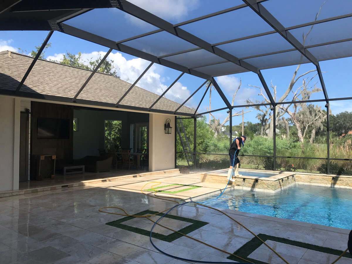 pressure washing project in jacksonville