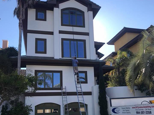 window cleaning project in jacksonville