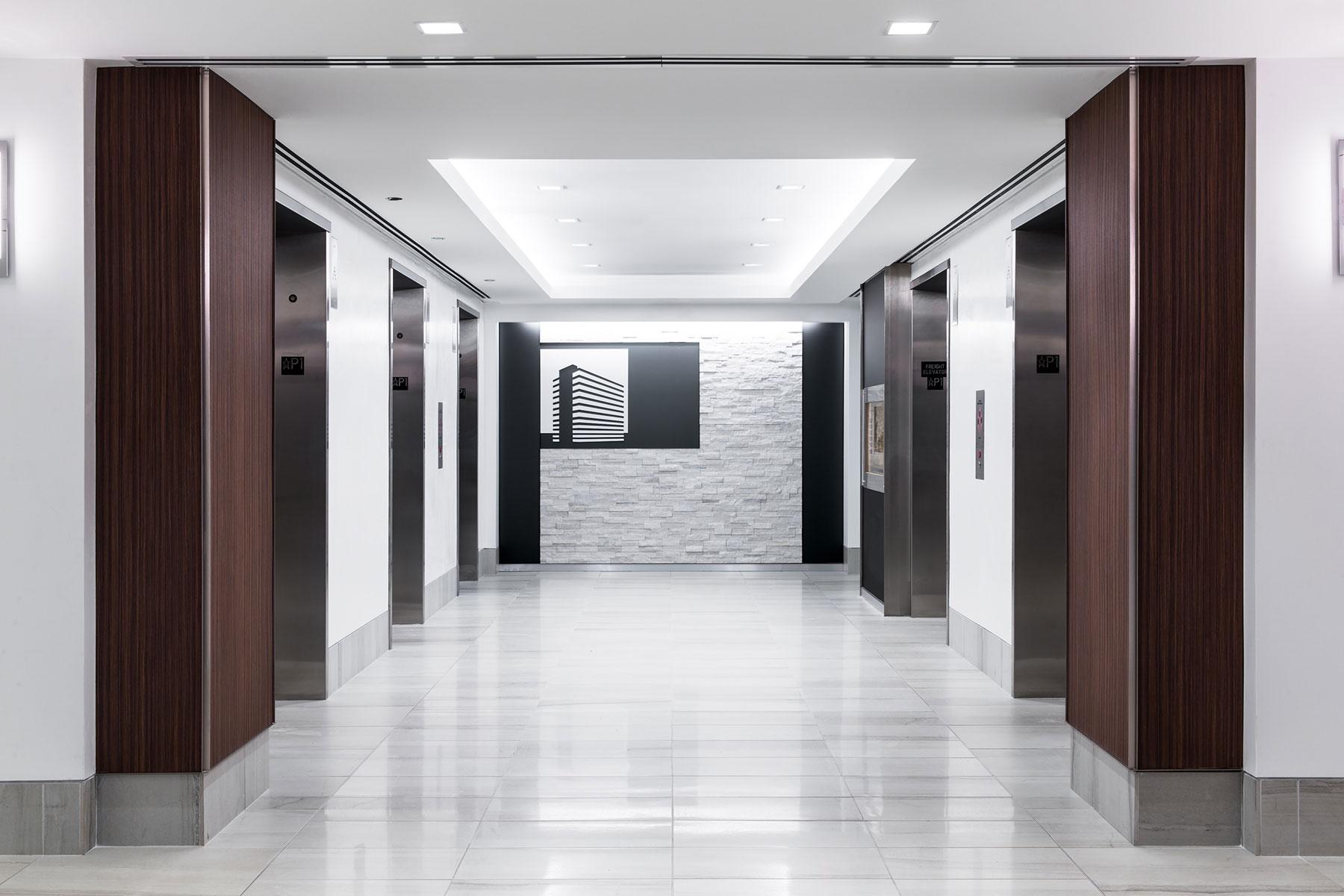 Lobby Elevator Core