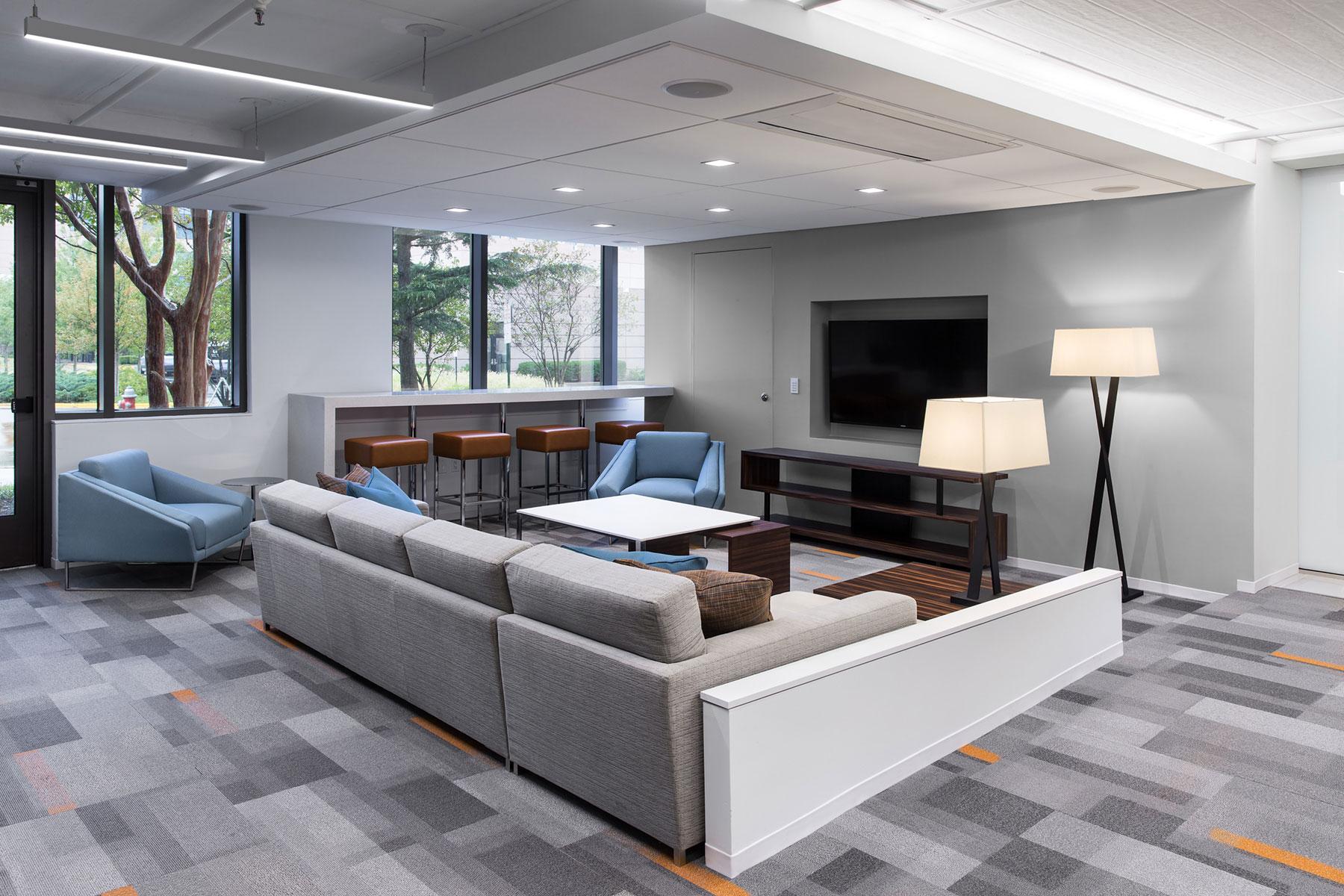 Media Lounge Area