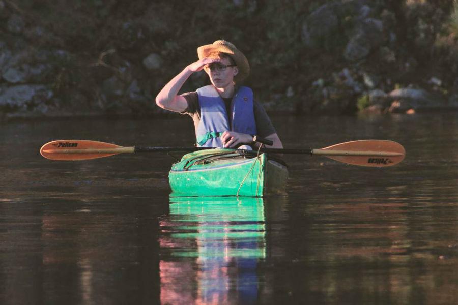 Peniel Ranch Kayaking on Columbia River