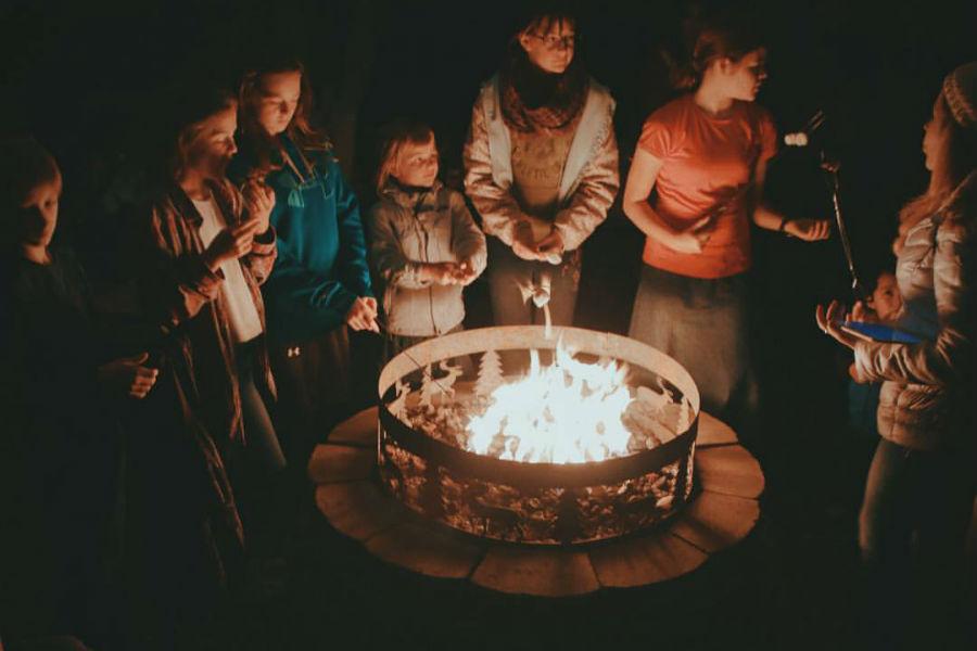 Peniel Ranch Bonfire