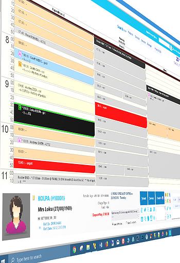 The new SQL version - Reception screen