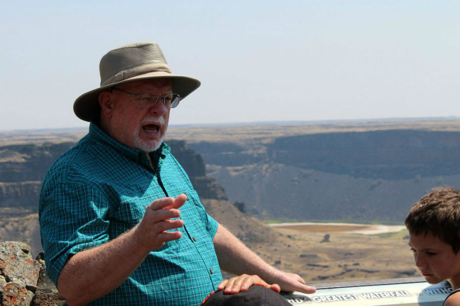 Geology Camp speaker Patrick Nurre