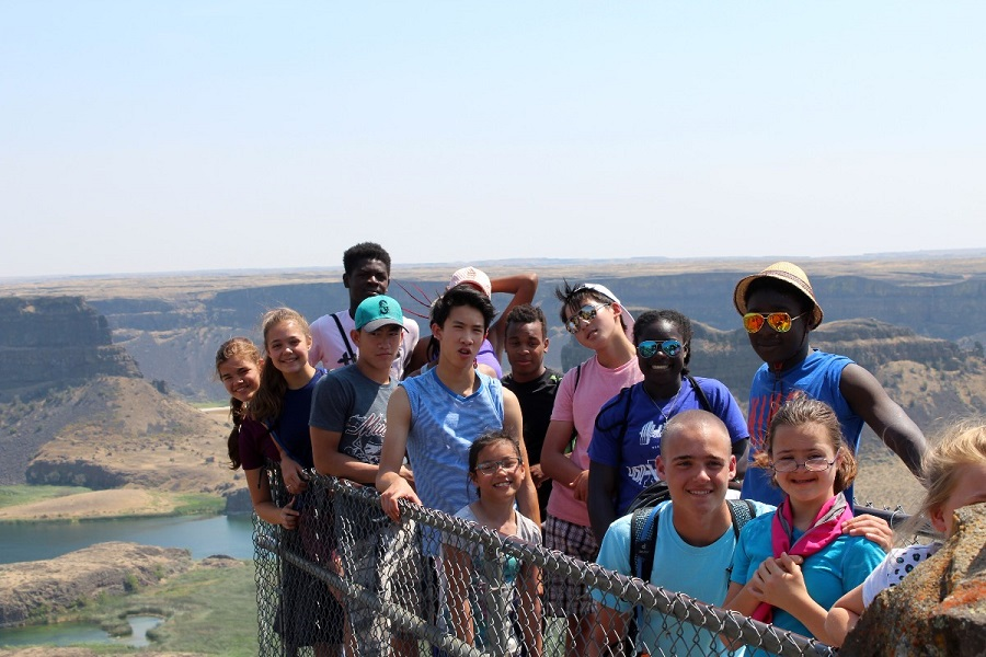 Geology Camp at Dry Falls