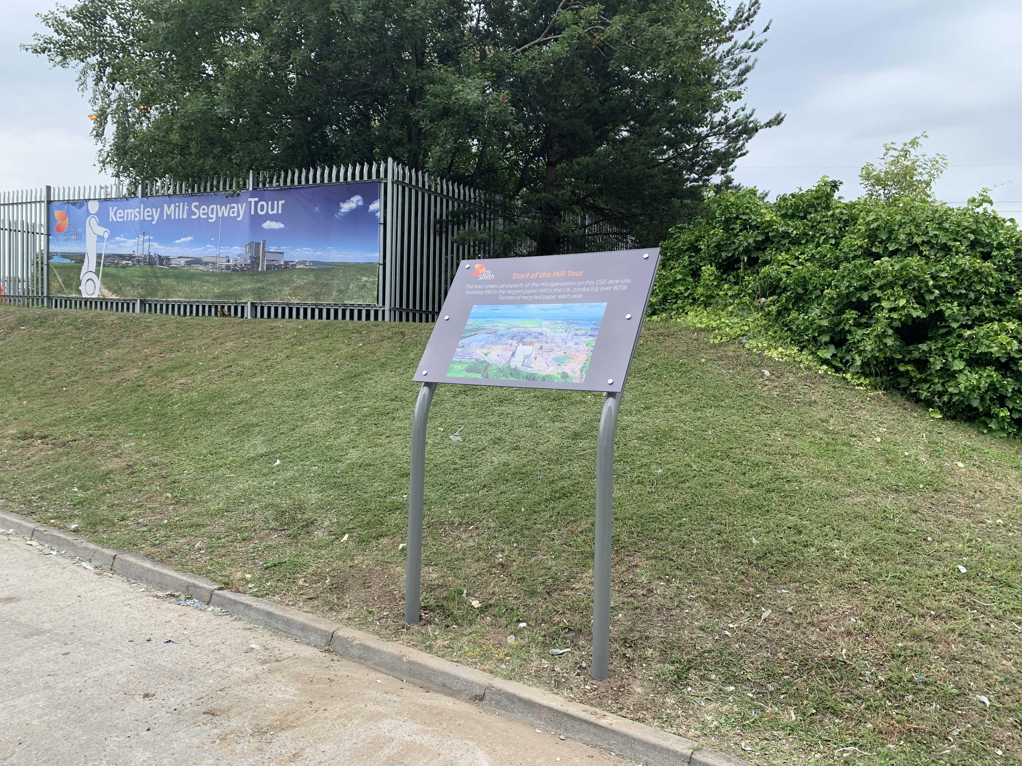Monolith Sign
