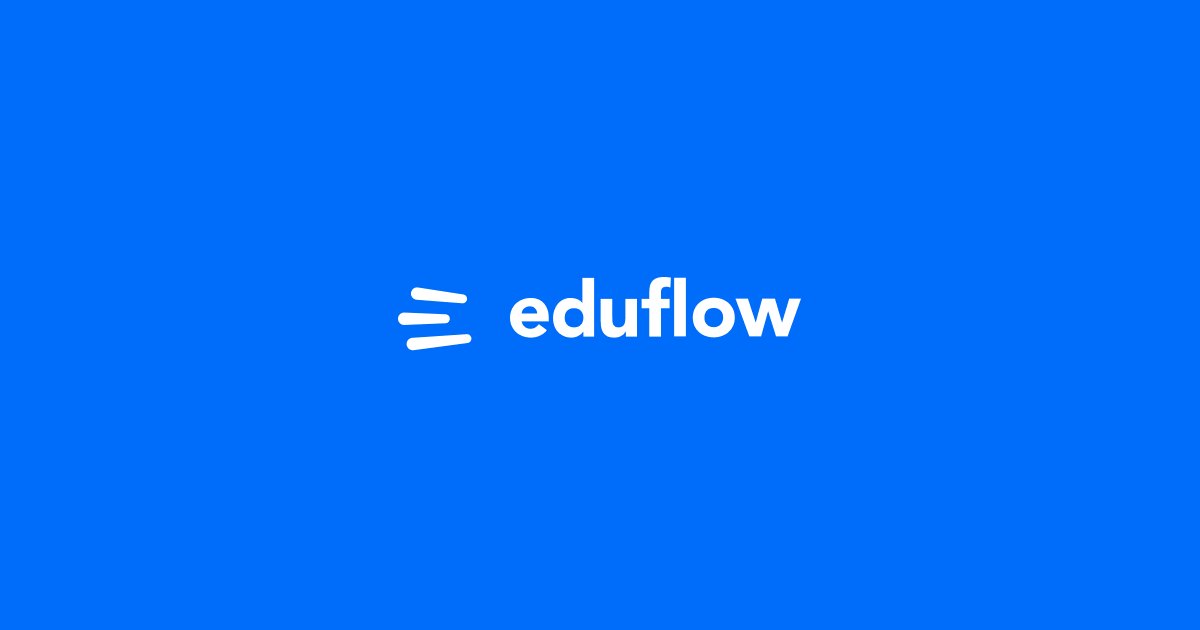 Eduflow · Learning experiences made easy, social and interactive