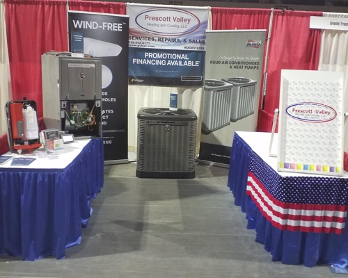 prescott valley heating and cooling hvac booth