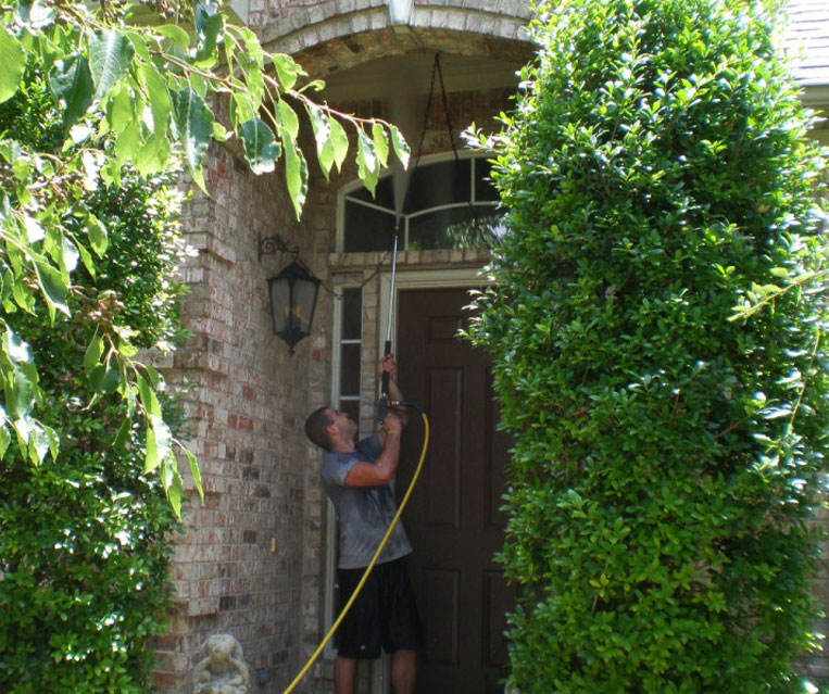 Recent-pressure-washing-project-in-Frisco-Texas