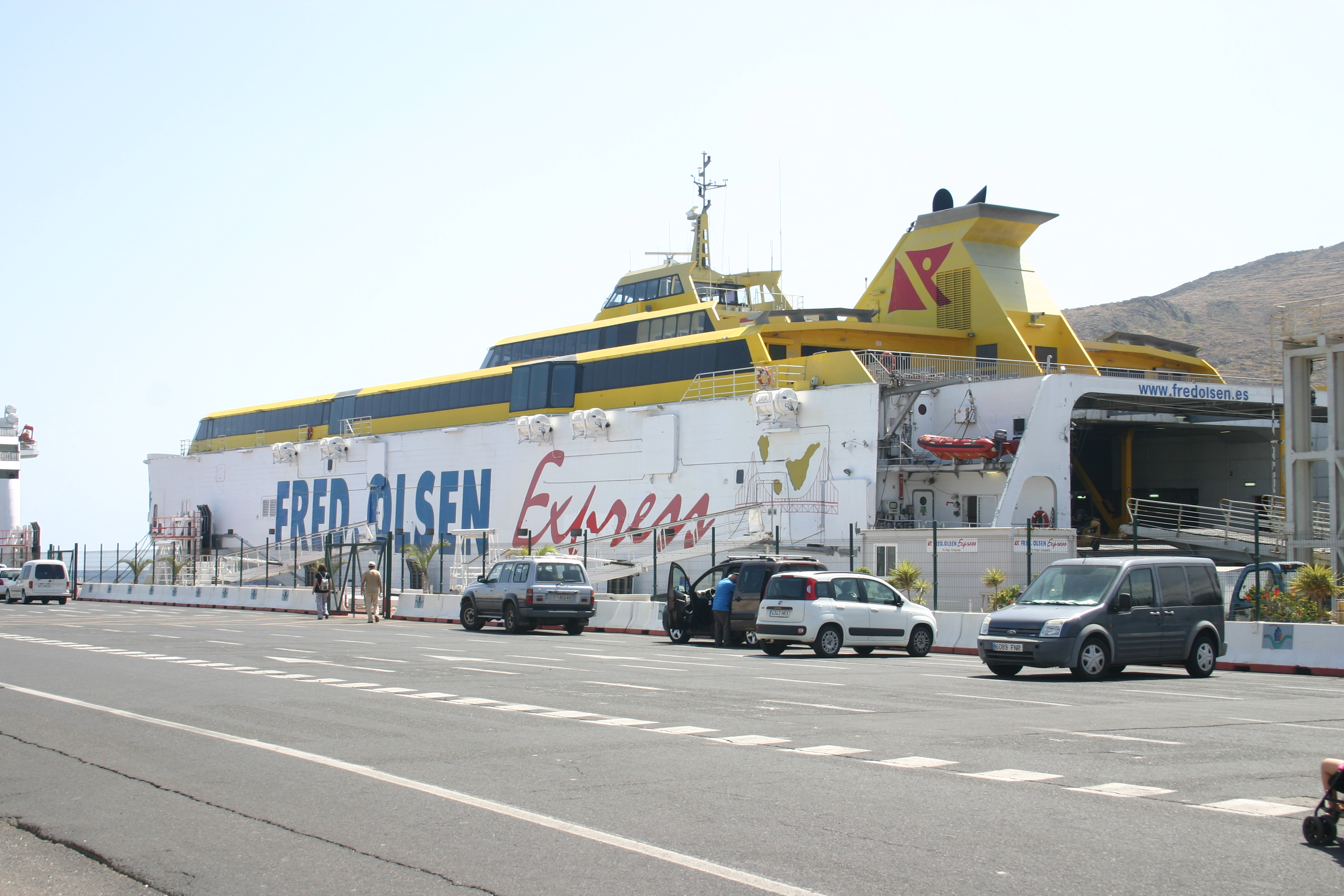 Fred. Olsen Express Ferry