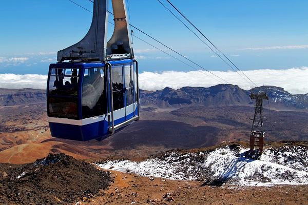 Cable Car Mount Teide
