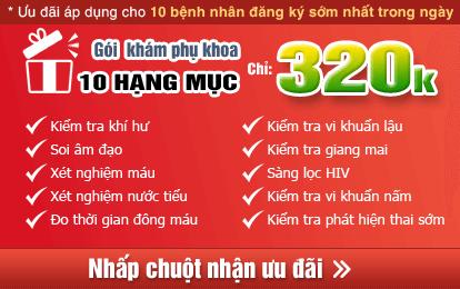 Bảng giá khám phụ khoa Thái Hà