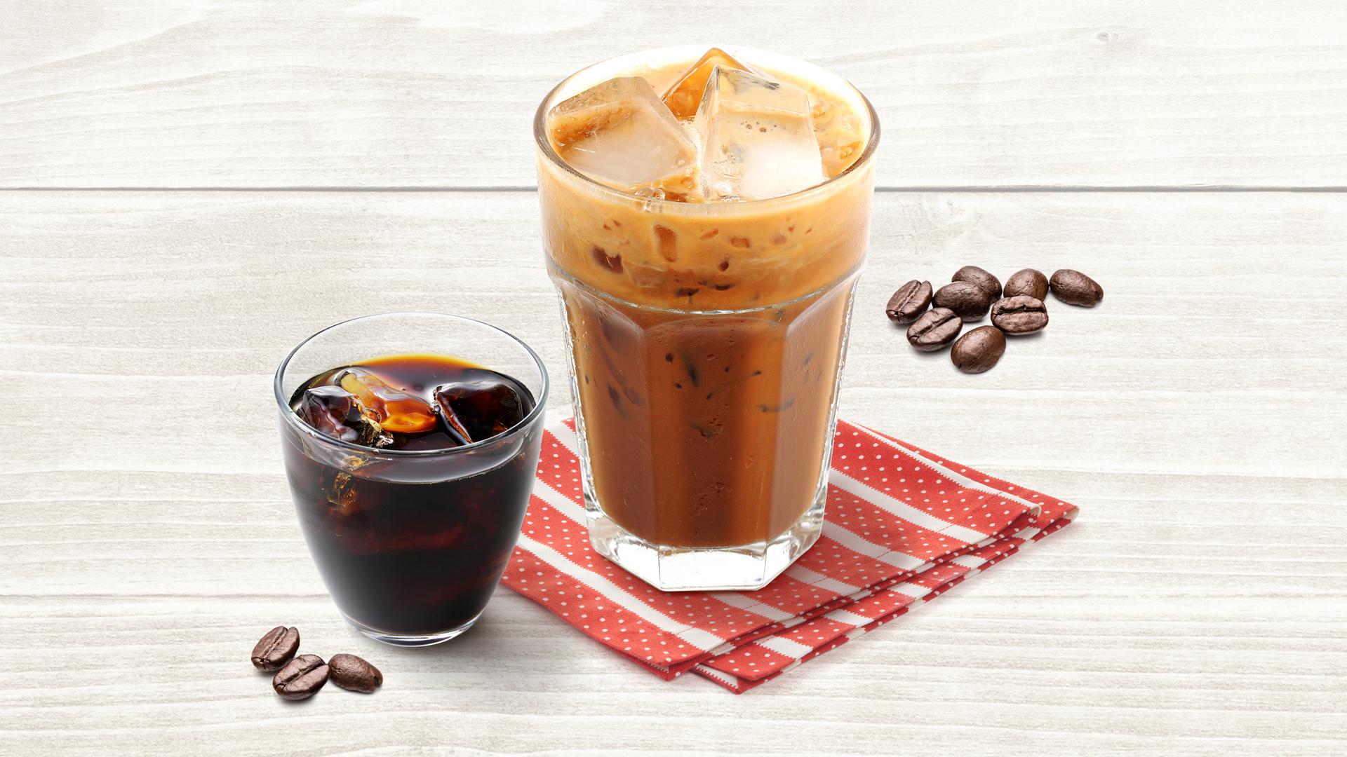 Kaffee auf Eis