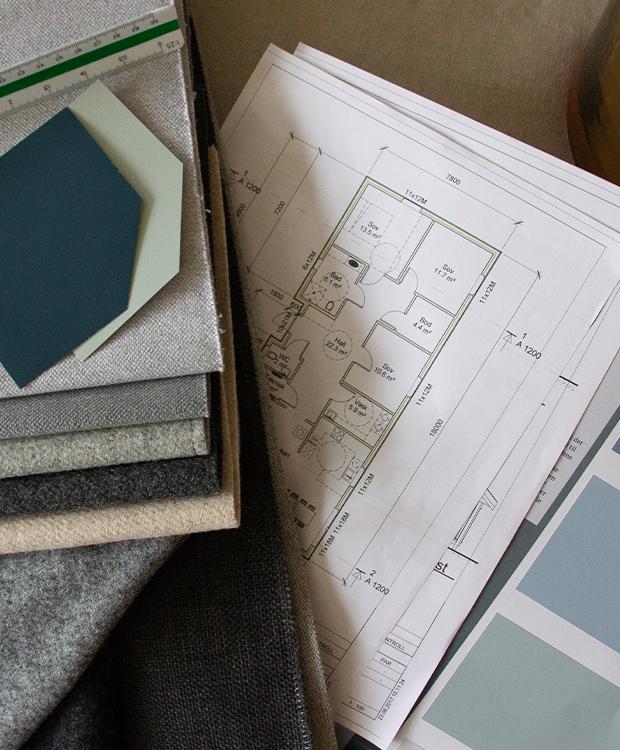 Interiørdesign og planlegging av oppussing