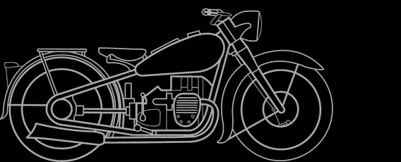 Illustration of a BMW R 6