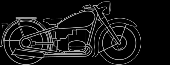 Illustration of a BMW R 5