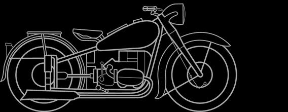 Illustration of a BMW R 51, R 66