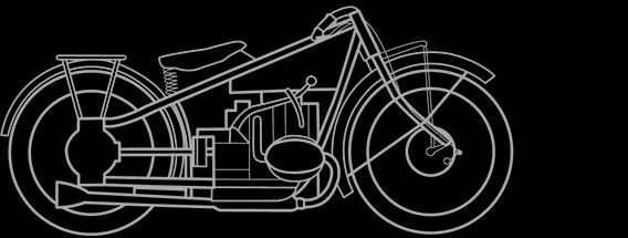 Illustration of a BMW R 57, R 63
