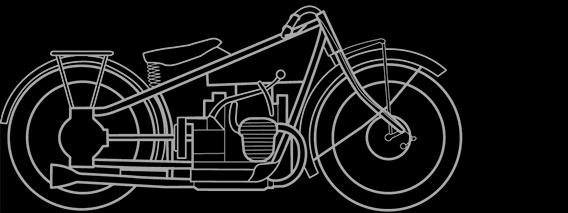 Illustration of a BMW R 52, R 62