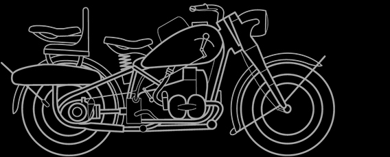 Illustration of a BMW R R 75