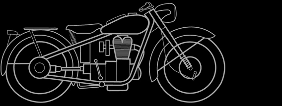 Illustration of a BMW R 24