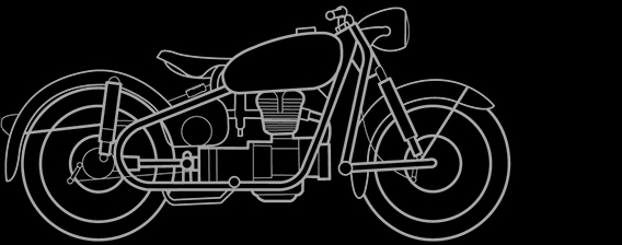 Illustration of a BMW R 26, R 27