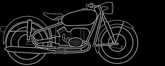 Illustration of a BMW R 50, R 60, R 50/2, R 60/2