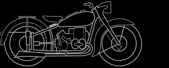 Illustration of a BMW R 51/2