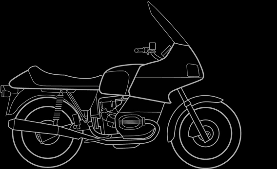 Illustration of a BMW R 100 RT