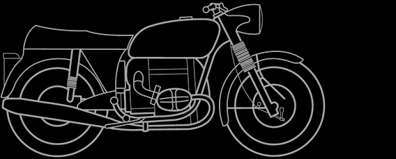 Illustration of a BMW R 50/5, R 60/5, R 75/5