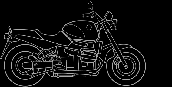 Illustration of a BMW R 1100 R