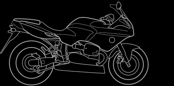 Illustration of a BMW R 1100 S Boxer Cup Replica