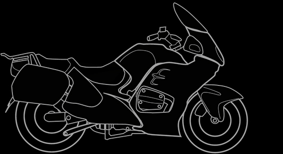 Illustration of a BMW R 1100 RT