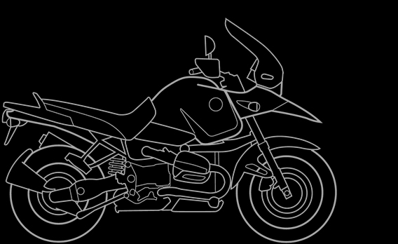 Illustration of a BMW R 1150 GS Adventure