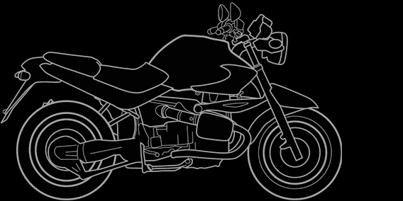 Illustration of a BMW R 1150 R
