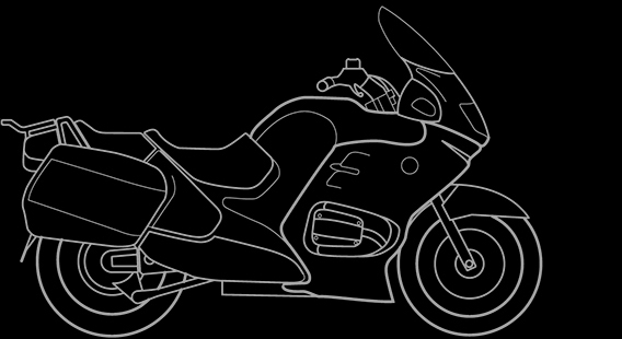 Illustration of a BMW R 1150 RT