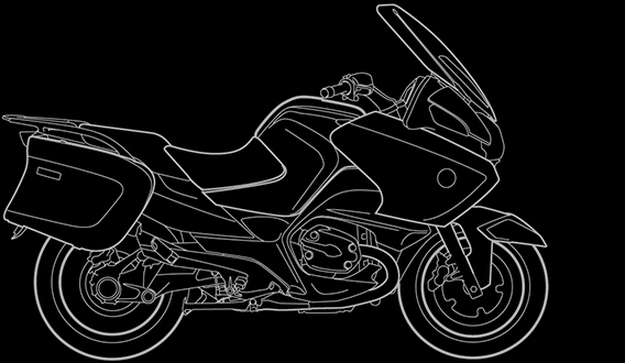 Illustration of a BMW R 1200 RT