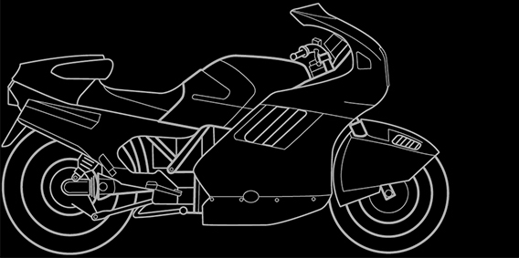 Illustration of a BMW K 1