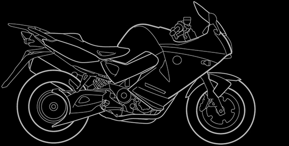 Illustration of a BMW F 800 ST