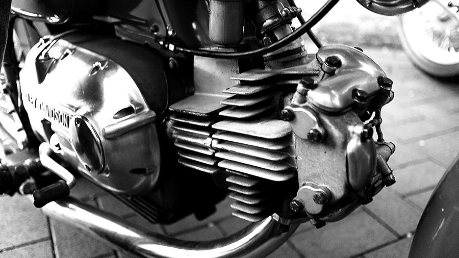 Photo of a vintage Harley-Davidson Sprint carburetor