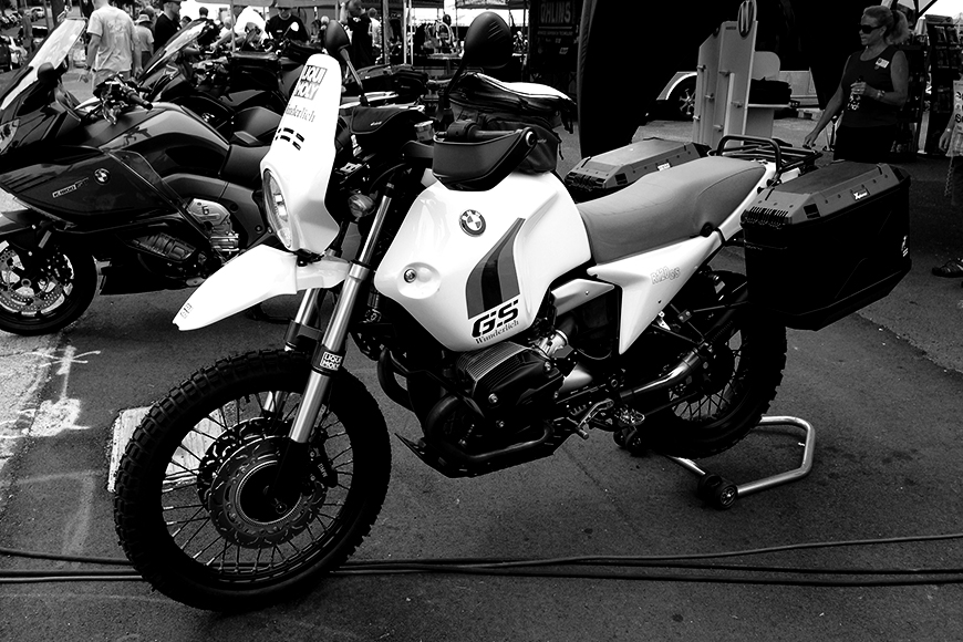 Photo of a BMW R 1200 GS