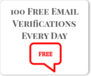 free email verification