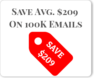 save on email verification prices