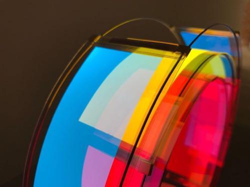 OLED flexibles dünnglas