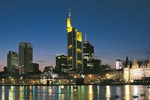 Commerzbank Frankfurt Beleuchtung Thomas Emde
