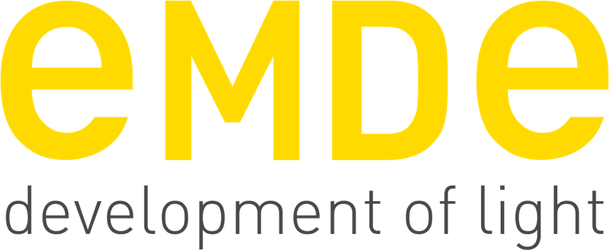 EMDE development of light Logo