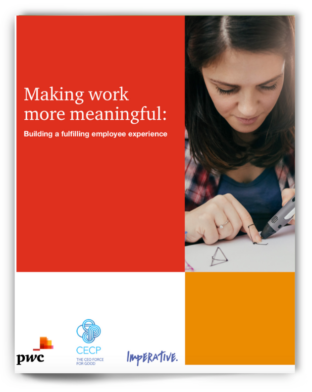 """book """"Making work more meaningful: building a fulfilling employee experience"""""""