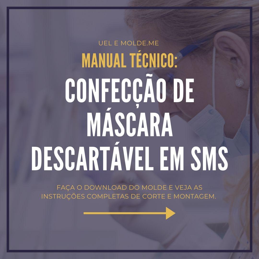 Manual Técnico: Máscara Descartável de SMS