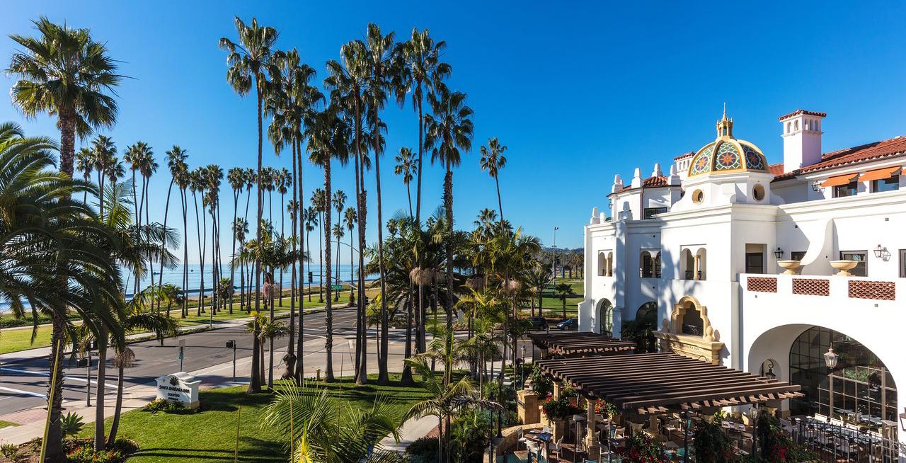 Santa Barbara Inn from the outside