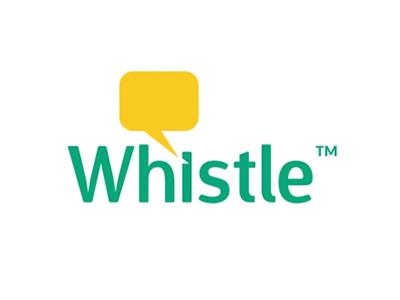 Whistle messaging logo